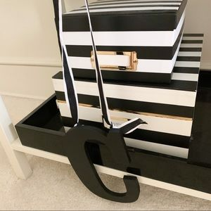 """Pottery Barn Accents - Pottery Barn Black Letter """"C"""""""